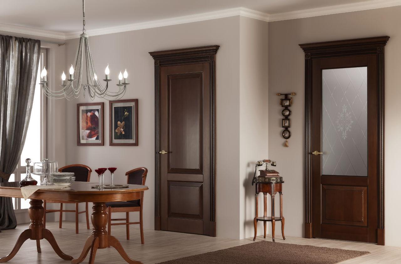 Двери модерн в интерьере